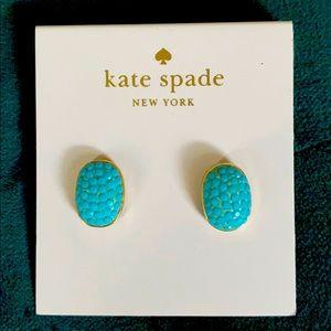 Kate Spade casual or dressy oval earrings